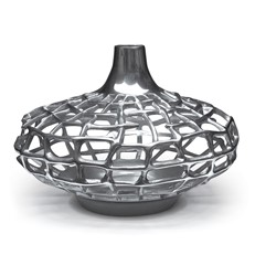 Metal Vase - Plasma 16in