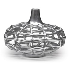 Metal Vase - Plasma 10.5in