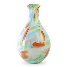 White Fruit Nougat Vase