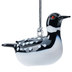 Glassdelights Ornament Loon