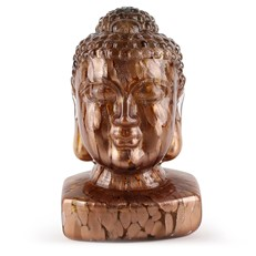 Guanyin (Female Buddha) Head - Copper