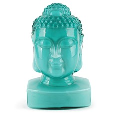Guanyin (Female Buddha) Head - Jade