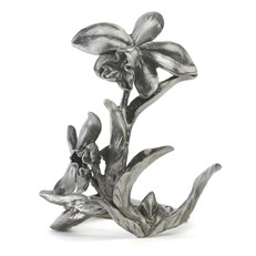 Metal Paperweight Stand - Orchid