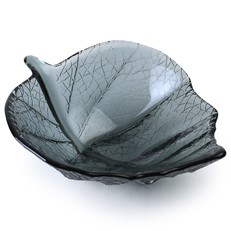 Small Leaf Bowl - Smoky Grey