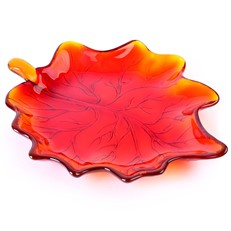 Small Maple Leaf - Sienna Red