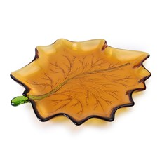 Large Maple Leaf - Amber