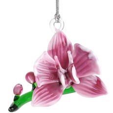 Glassdelights Ornament - Orchid