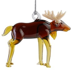 Glassdelights Ornament - Moose