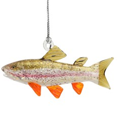 Glassdelights Ornament - Rainbow Trout