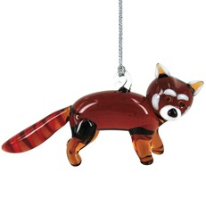 Glassdelights Ornament - Red Panda