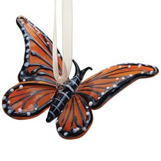Glassdelights Ornament - Monarch Butterfly