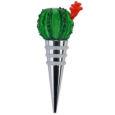 Barrel Cactus Wine Stopper
