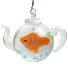 Teapot Ornament - Clownfish