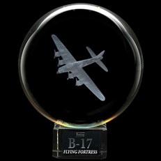 Crystal Sphere - B-17 Flying Fortress