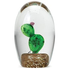 Medium Paperweight - Prickly Pear Cactus