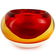 Halo Bowl - Red/Amber