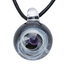 Celestial Pendant - Black/Purple