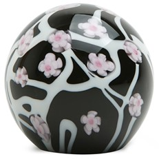 Small Paperweight - Night Sakura Cherry Blossom