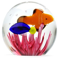 Small Paperweight - Tropical Fish
