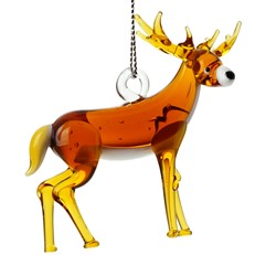 Glassdelights Ornament - Whitetailed Deer