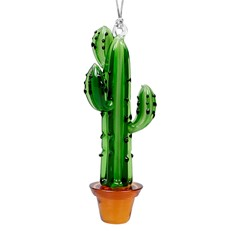 Glassdelights Ornament - Saguaro Cactus