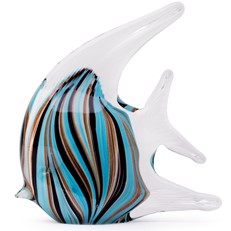 Tropical Fish - Deco Stripes Turquoise