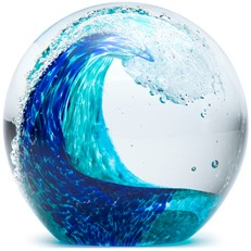 Large Paperweight - Tropical Wave