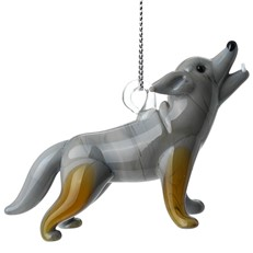 Glassdelights Ornament - Wolf