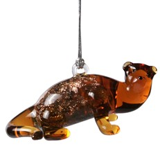 Glassdelights Ornament - River Otter