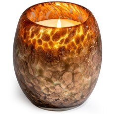 Glisten+Glass Candle Copper Shimmer - Honey Amaretto
