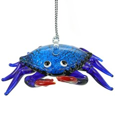 Glassdelights ornament - Blue Crab