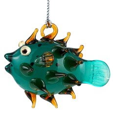 Glassdelights ornament - Porcupine Fish