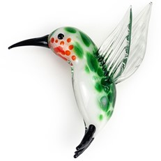 Glass Magnet - Hummingbird
