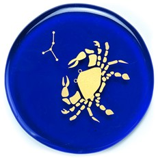 Zodiac Collection - Cancer - Sapphire Blue