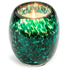 Glisten+Glass Candle Starfish Teal Glow