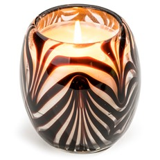 Glisten+Glass Candle Zebra Glow