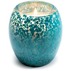 Glisten + Glass Candle- Larimar Blue