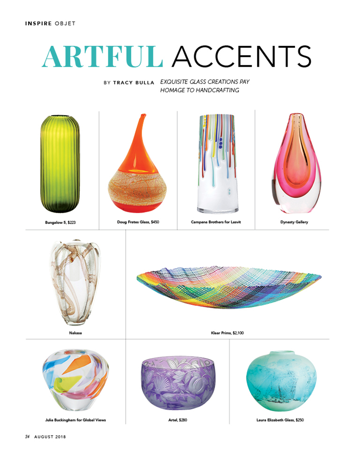 Home Accents Today - August 2018