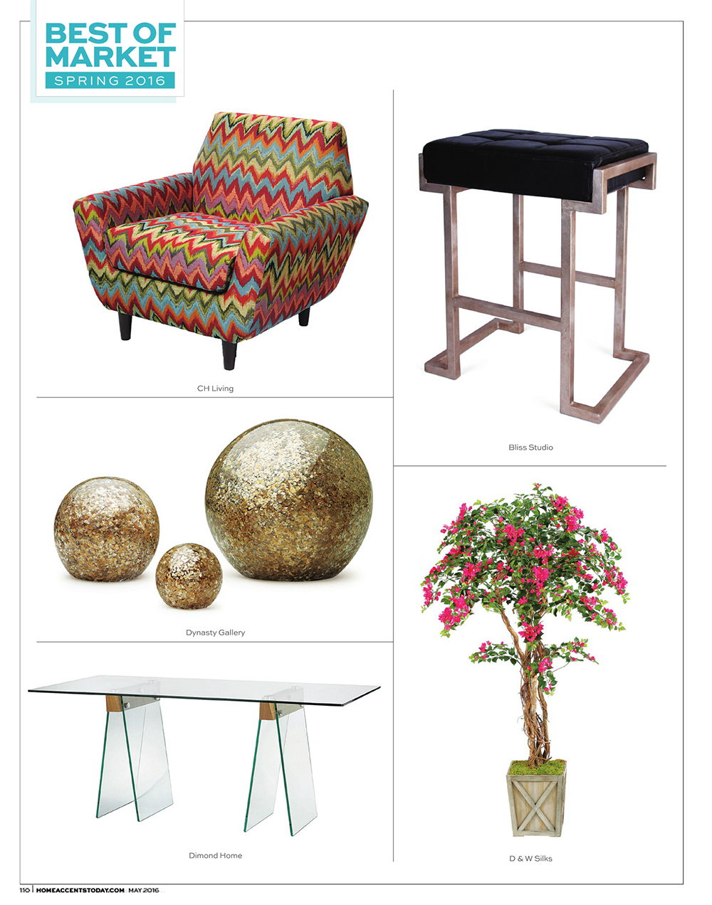 Home Accents Today - Best of Market - Spring 2016