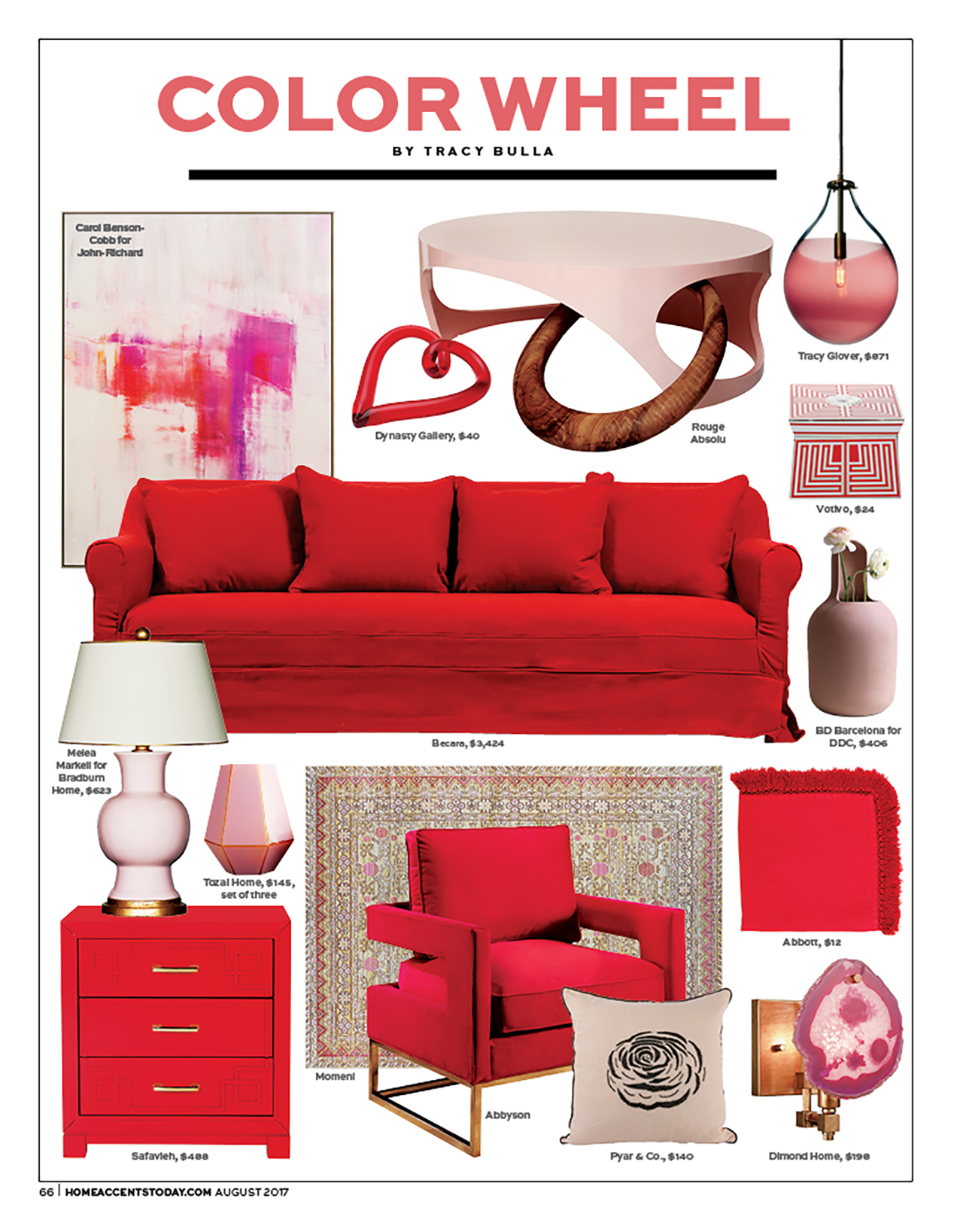 Home Accents Today - August 2017 Color Wheel