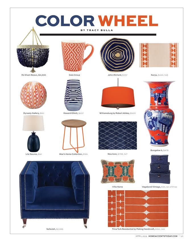 Home Accents Today - April 2016 Color Wheel
