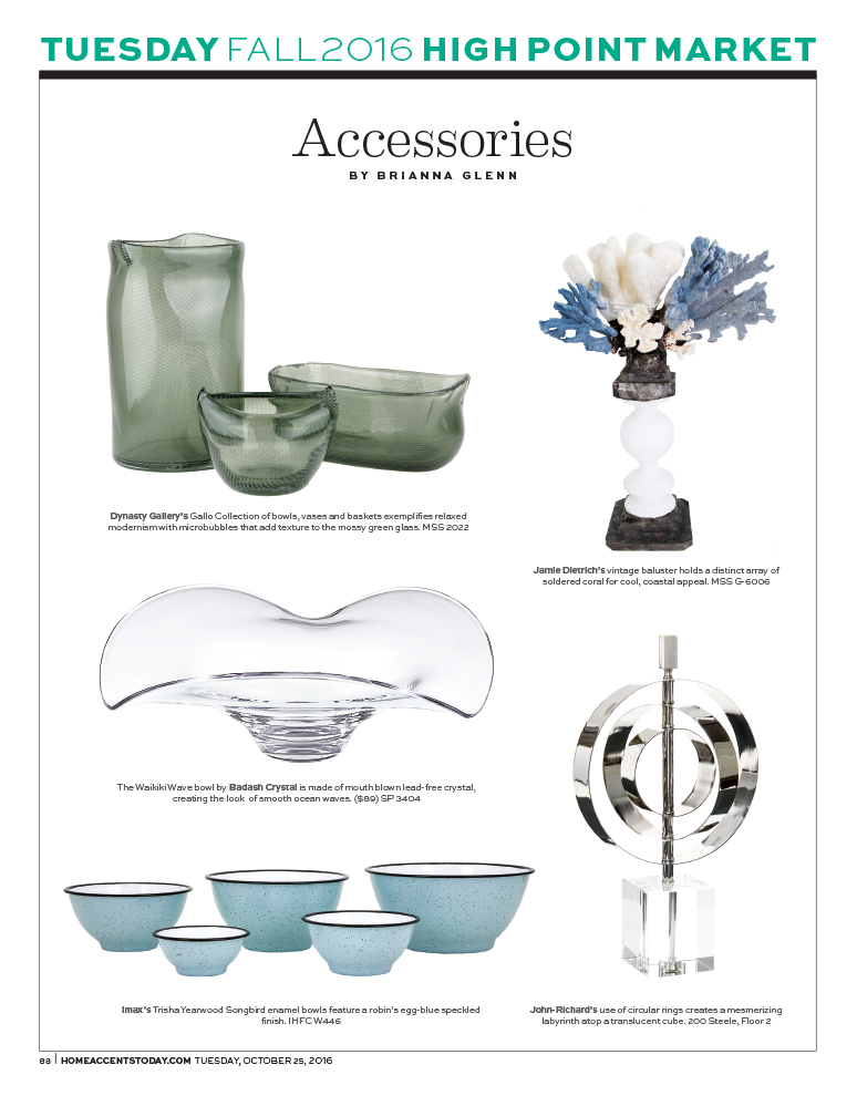 Home Accents Today - High Point Dailies - October 25 2016